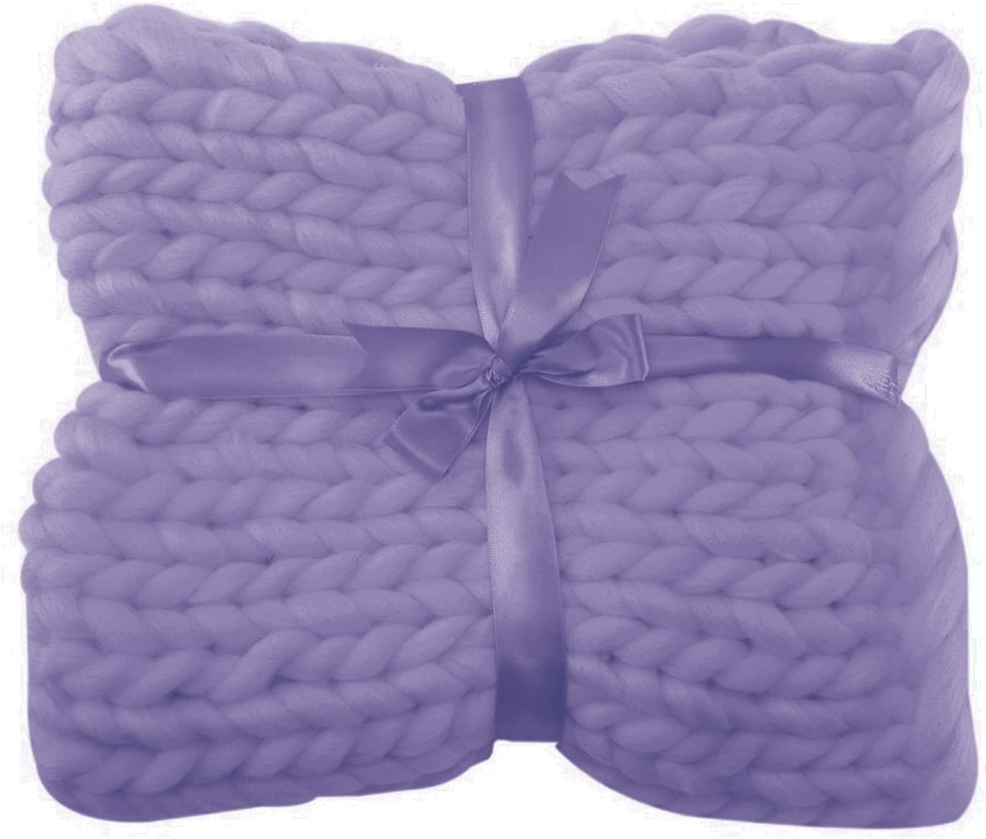 Department store YXYH Chunky Knit Blanket Super Polyester Yarn Soft Knitted Hand service