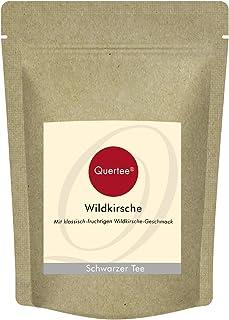Quertee - Schwarzer Tee Wildkirsche - Mit fruchtigem Wildkirsche Geschmack 250 g