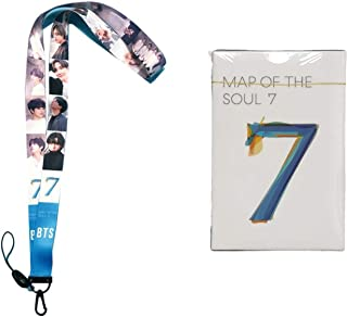 IMH BTS Bangtan Boys Map of The Soul 7 Lanyard with 54 PCs Lomo Cards