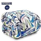 Bassetti Trapunta Matrimoniale Time Home Innovation Chips Bluette...