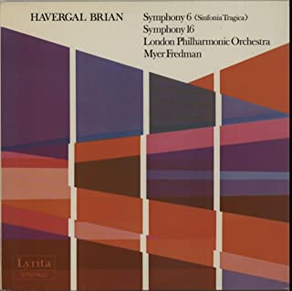Symphony 6 (Sinfonia Tragica) / Symphony 16