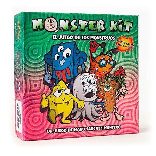 Monster Kit - segunda edicion - juego de mesa para niños (edición...