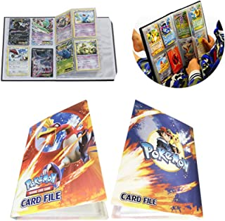 Card Holder Collection Handbook Trading Card Album for Pokemon Holds up to 240 Trading Cards (Ho-Oh)
