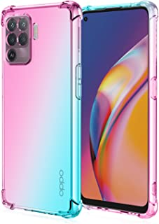 EasyLifeGo for Oppo A94 / Oppo F19 Pro Case Slim Shock Absorption Flexible TPU Soft Edge Bumper with Reinforced Corners Mu...