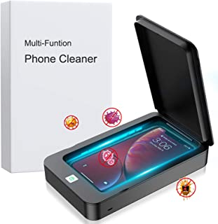 QITEK Cell Phone Cleaner Box, Portable Phone Cleaning Box Device with Aromatherapy, Smartphone Soap Clean Box Device for A...