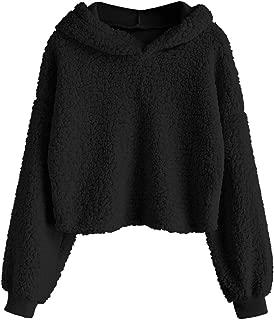 Best teddy fur hoodie Reviews