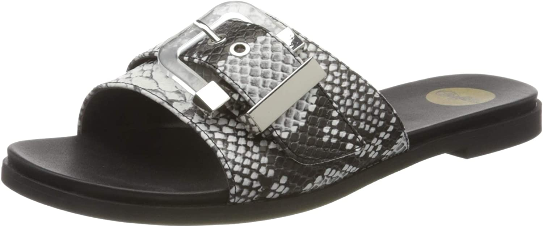 Buffalo Women's Slide Flat Quantity Overseas parallel import regular item limited Sandal