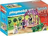 PLAYMOBIL- Pabellón Nupcial con Novios Figura con Accesorios, única (9229)
