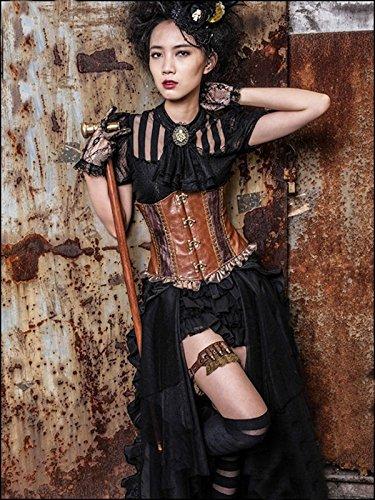 Dark Dreams Gothic Mittelalter LARP Rock Black Mamba - 8