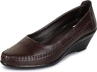 TRASE Duchess-II Black/Brown Women Formal Bellies - 2 Inch Heel