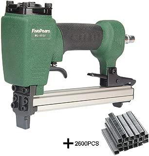 FivePears 1013J 20 Gauge Pneumatic Nail Gun Air Stapler Gun Tool Brad Nail Gun U Style for Furniture Wood Sofa Woodworking