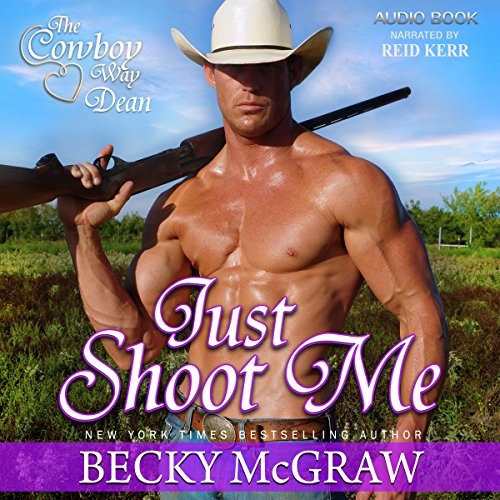 Just Shoot Me audiobook cover art