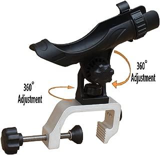 Brocraft Power Lock Fully Adjustable Rod Holder with Aluminum Universal Clamp