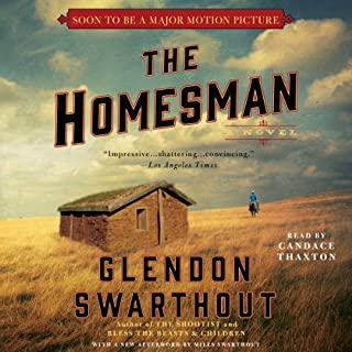 The Homesman audiobook cover art
