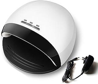RHG Lámpara de Uñas Led Uv de 120 Vatios Luz de Uñas Led para Secador de Uñas Más Rápido Accesorios Profesionales de Arte de Uñas Máquina de Sensor Automático de Uñas Y Uñas para