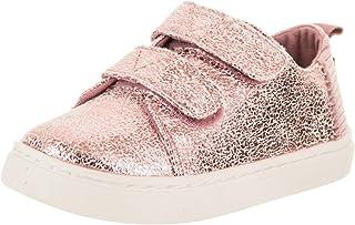 TOMS Lenny Foil Sneakers UK 5 (Toddler) Lavender