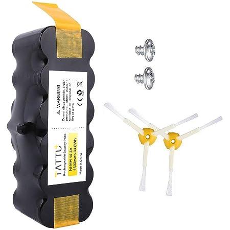 Tattu 3.5Ah XLife Extended Life Replacement Battery for iRobot Roomba R3 500 600 700 800 900 Series 530 531 532 535 536 540 550 552 560 562 570 580 595 620 630 650 660 760 770 780 790 870 880 980