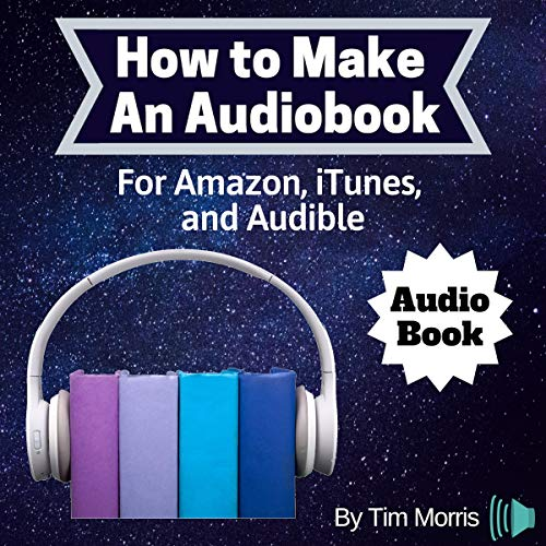 How to Make an Audiobook audiobook cover art