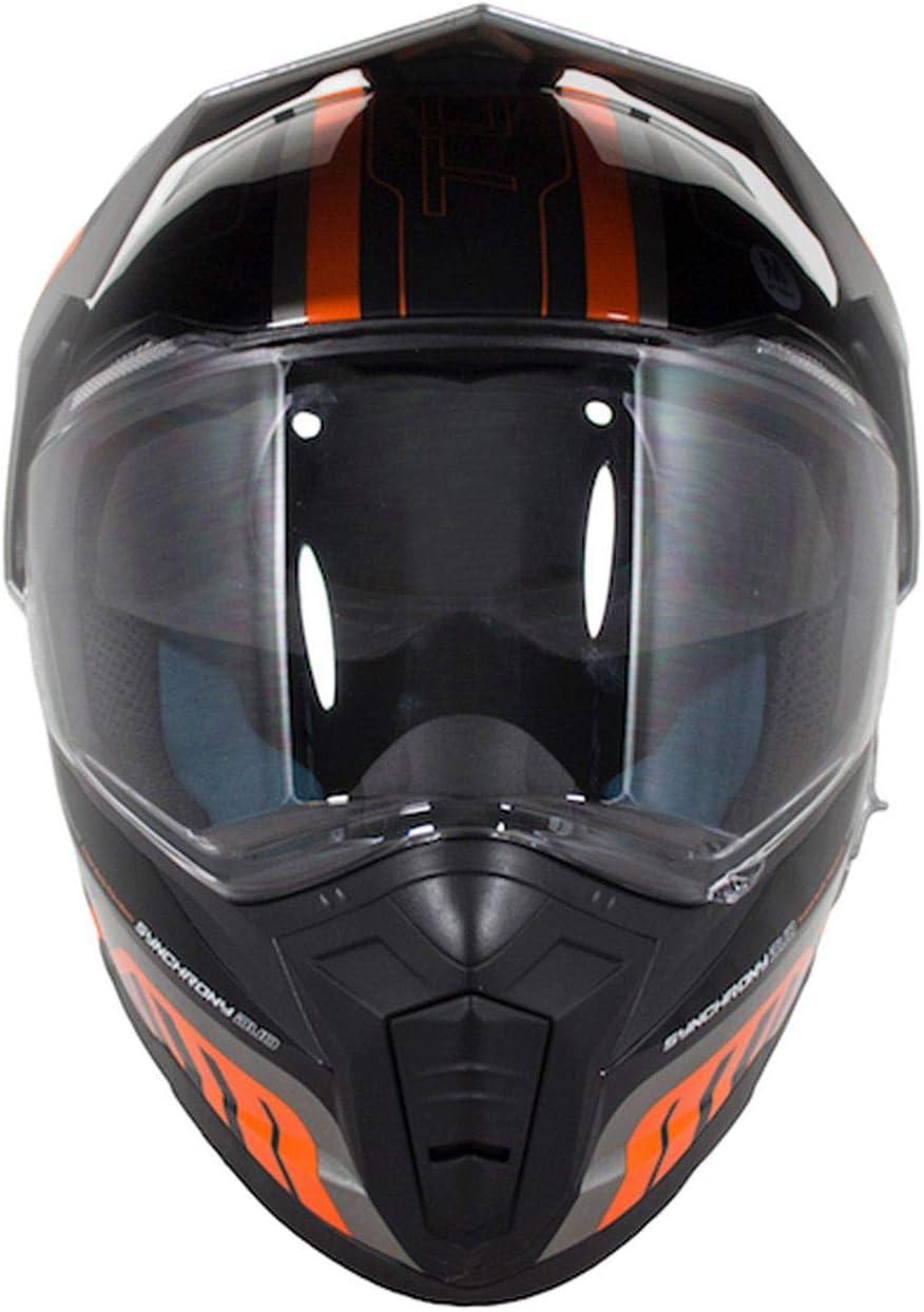 MT Synchrony DS SV Tourer Gloss Black//Orange M