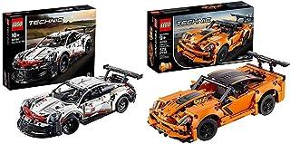 レゴ(LEGO) テクニック ポルシェ 911 RSR 42096 知育玩具 ブロック おもちゃ 男の子 車 &  テクニック シボレー コルベット ZR1 42093 知育玩具 ブロック おもちゃ 男の子 車【セット買い】