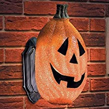 Pumpkin Porch Light Covers-Set of 2 - Halloween Decor