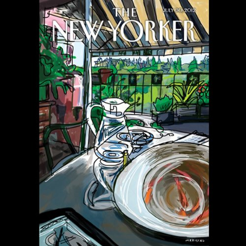 The New Yorker, July 30th 2012 (David Remnick, Jill Lepore, James Surowiecki) audiobook cover art