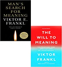 Viktor E Frankl 2 Books Collection Set (Man's Search for Meaning, The Will to Meaning)