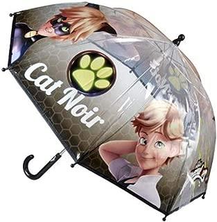 character Miraculous: Adventures Ladybug Umbrella 40 cm (CAT Noir/Adrien) Transparent