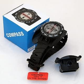 Wrist compass with hose mount