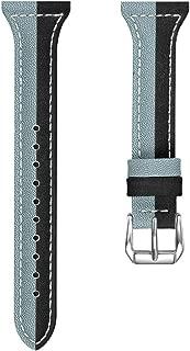 NICERIO 1Pc Watch Band - Skin-Friendly Genuine Stylish Premium Durable Wristwatch Watchband Watch Strap Compatible for Fitbit Versa/Lite/Versa2,