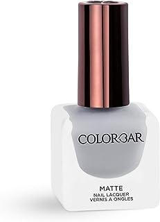 Colorbar Matte Nail Lacquer, Rhino Grey, 12 ml