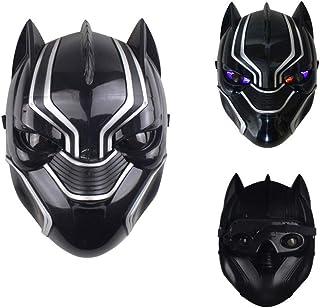comprar comparacion morningsilkwig Panteras Máscara Movie Fantastic Four Cosplay Hombres látex Juguete del Partido para Halloween (S, Black)