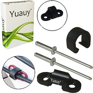 Yuauy Juego de 2 Piezas de pl/ástico ABS para Frenos y Fideos en V