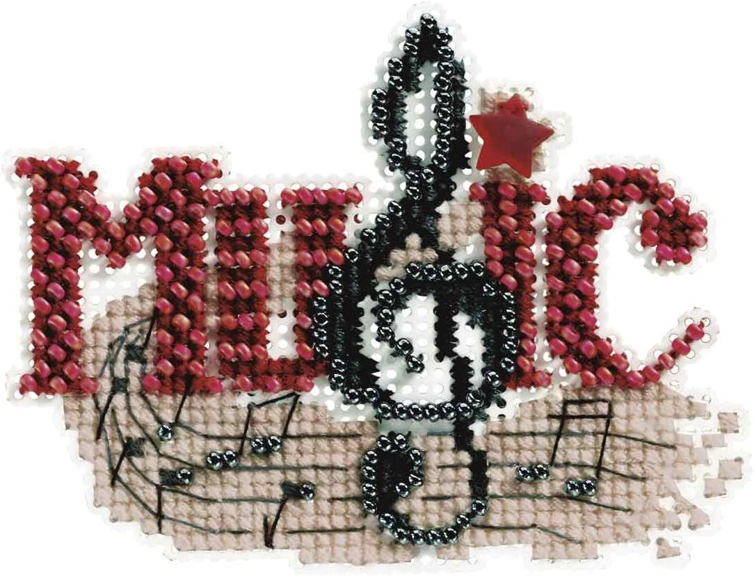 Music Many popular brands Beaded Counted Cross Stitch Ornament ! Super beauty product restock quality top! Hill Au Mill Kit 2011
