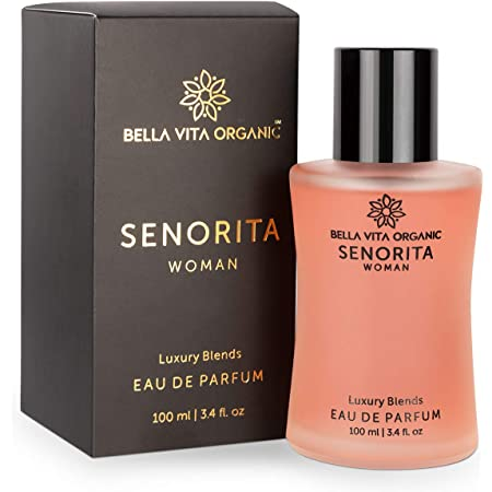 Bella Vita Organic Senorita Perfume For Woman, Fresh and Fruity Long Lasting Scent Ladies Girls Perfume,100 ml