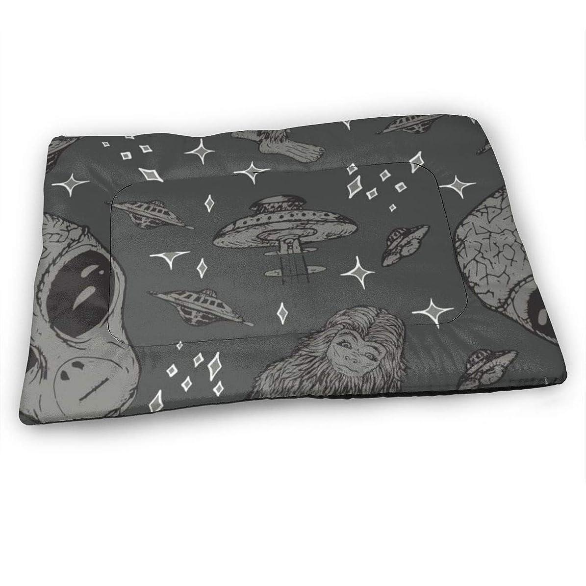 すなわち驚くべき既にペットベッド ペットマット エイリアン UFO ゴリラ ペットカーペット ペットシーツ ペットクッション 中型 犬 猫 ベッド 防水 速乾 消臭 滑り止め ふわふわ 暖かい ペットハウス 清掃しやすい 睡眠マット 通年使える