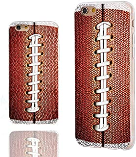 iPhone 6s Case,iPhone 6 Case,Case for iPhone 6 6s 4.7 Inch,ChiChiC [Cute Series] 360 Full Protective Slim Flexible Durable Soft TPU Cases Cover with Cool Design,Funny Sports Design Brown Football
