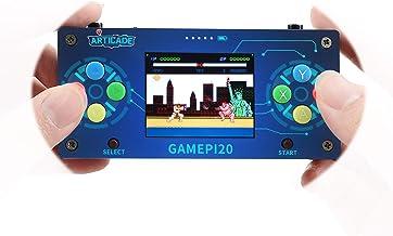 Waveshare GamePi20 Mini Retro Video Portable Game Console Based on Raspberry Pi Zero/Zero W/Zero WH 2.0inch IPS Display 320x240 Pixels Onboard Speaker and Earphone Jack