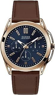 Vertex Mens Analog Japanese Quartz Watch with Leather...