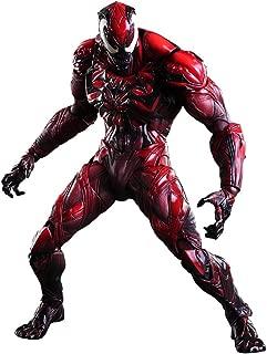 Square Enix Marvel Universe Venom Red Variant Play Arts Kai Action Figure (Carnage)