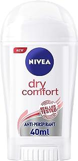 NIVEA Dry Comfort, Antiperspirant for Women, Quick Dry, Stick 40ml