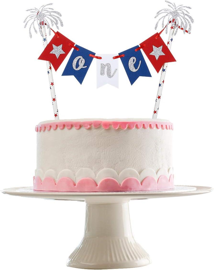 4th of July cake topper,little firecracker topper,patriotic cake topper,american cake topper,independence day cake topper,usa cake topper