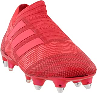 adidas Mens Nemeziz 17+ Soft Ground Soccer Athletic Cleats,