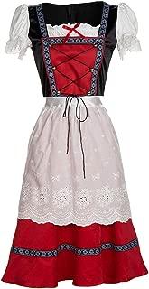 Women's German Dirndl Dress Bavarian Oktoberfest Maid Costumes