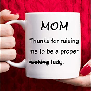 Amazon Com Mom Gifts From Daughter Mothers Day Gifts Birthday Gifts For Mom Funny Mom Coffee Mug Christmas Gift Ideas For Mom White 11oz Kitchen Dining