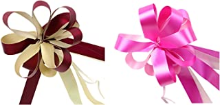 20Pcs New Ribbon Birthdays Fashion Valentines Holiday Basket Pull Bow About 18cm in Diameter Plastic