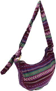 Lovoski Womens Canvas Hobo Handbags Crossbody Shoulder Bag With Adjustable Strap