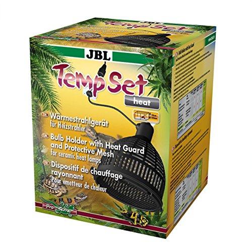JBL TempSet Heat 71185 Installationsset mit Keramikfassung für Wärmestrahler Schutzschirm Schutzgitter, 160 W, E27