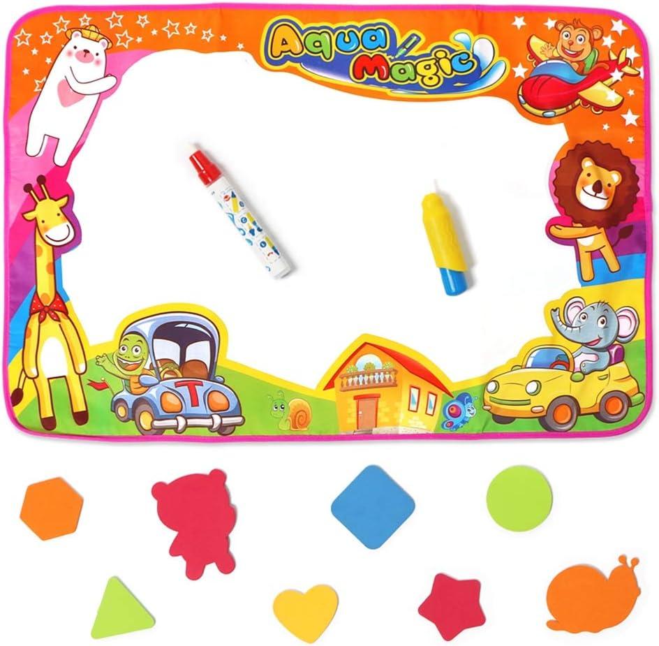 NHAO Aqua Magic Doodle Mat Kids Large Drawin Extra Animals Water New product type Superlatite