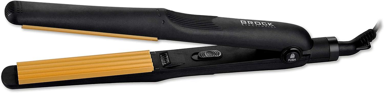 Brock Electronics, Plancha para el pelo (Color Negro) - 1 kit